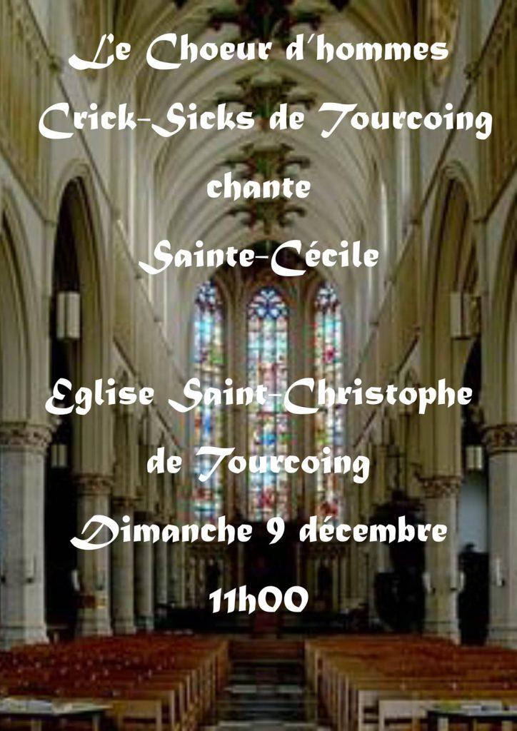 Sainte Cécile 2018 des Crick-Sicks